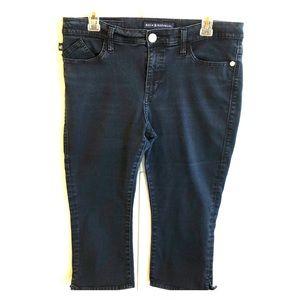 "Rock & Republic ""Roskilde"" Capri stretchy jeans 14"